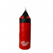 saco de pancada cheio - saco boxe profissional - 70 cm - saco de boxe com enchimento
