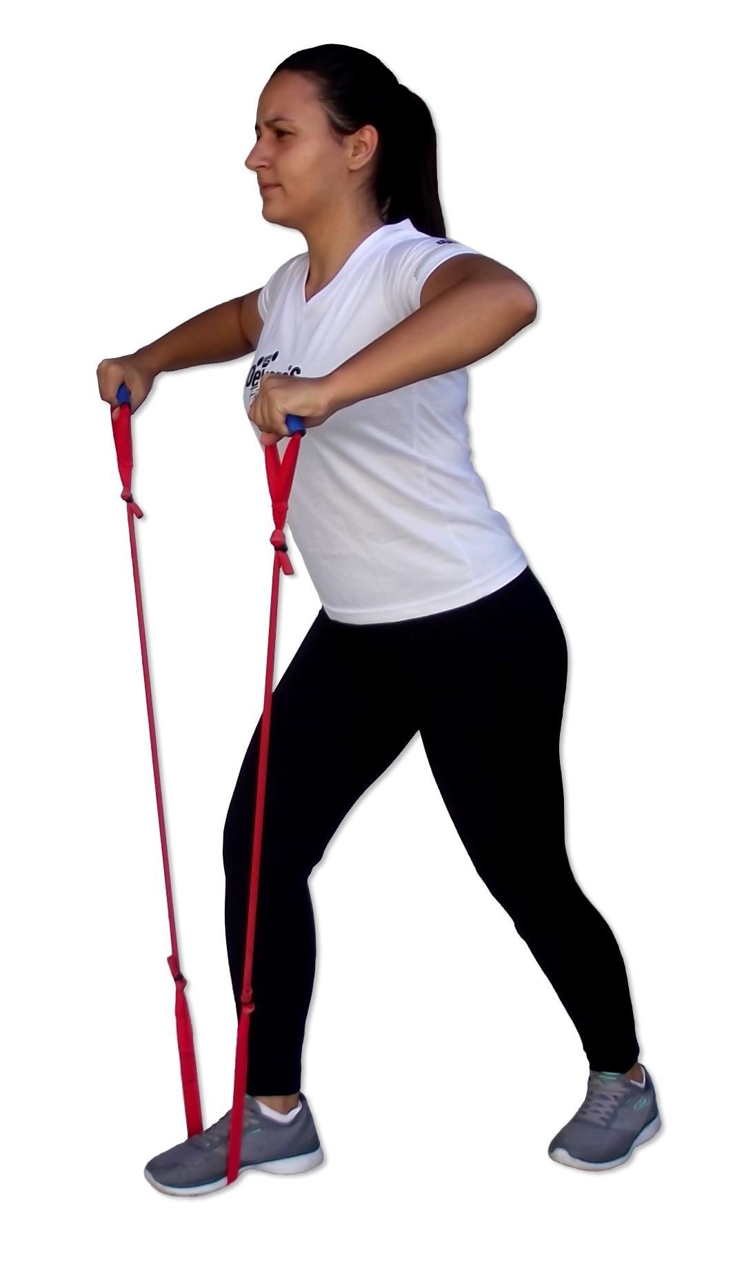 Elástico Extensor Para Exercícios em Casa - Tensão LEVE