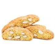 Cantuccini - biscoito adocicado com sabor e lâminas de amêndoas
