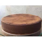 Cheesecake de chocolate meio amargo