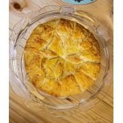 Folhado de queijo brie médio