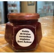 Geleia Zero Açúcar artesanal de frutas vermelhas