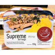 Refeição Frango Supreme com molho de shimeji e purê de mandioquinha