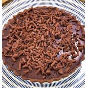 Torta de Chocolate Belga com caramelo e flor de sal