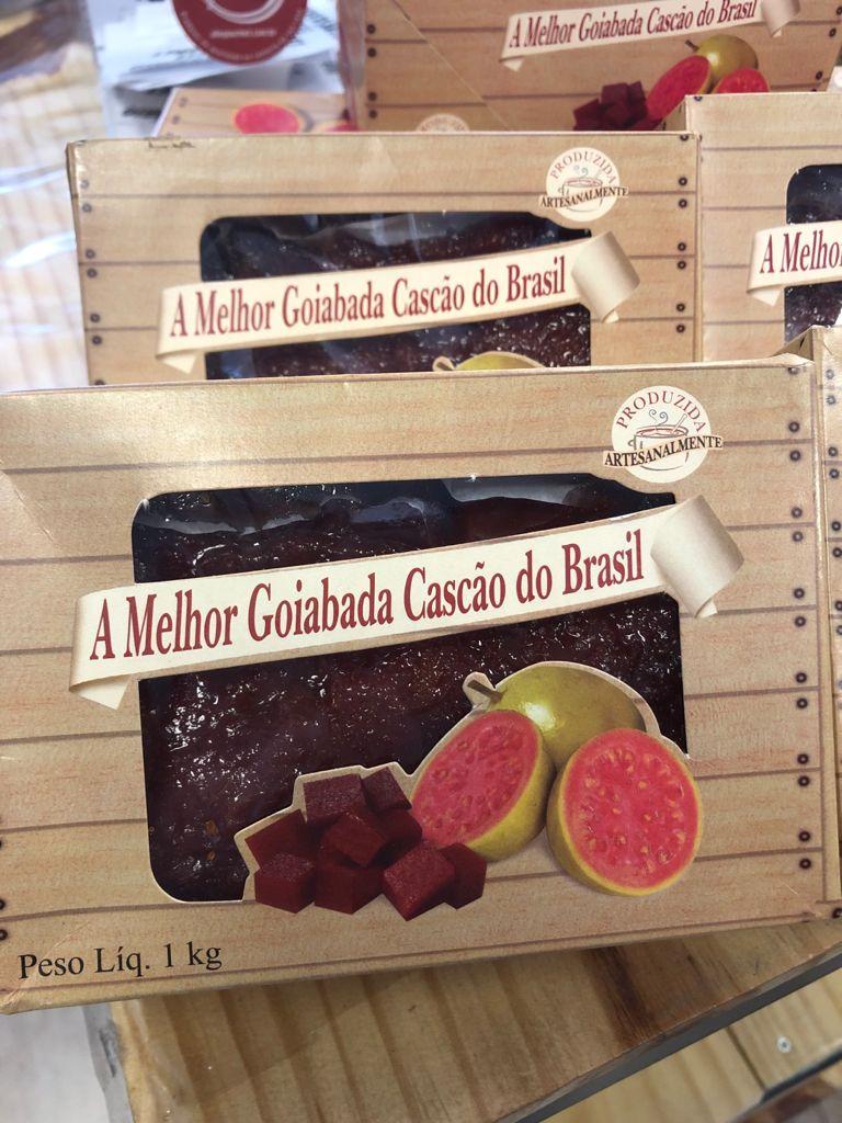 GOIABADA CASCÃO ARTESANAL 1 kg - A MELHOR GOIABADA DO MUNDO!