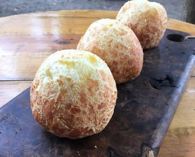 Pão de queijo recheado com requeijão 1 kg