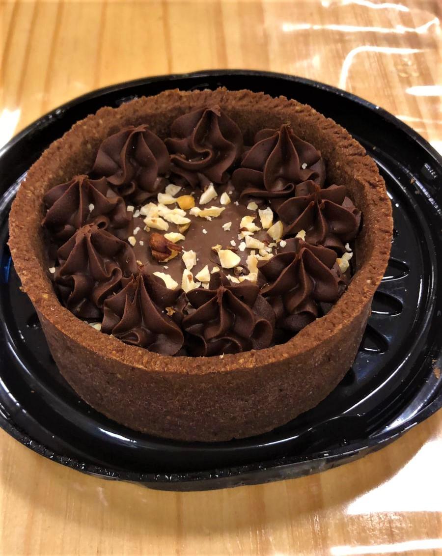 Torta Mini de Chocolate e Creme de Avelã