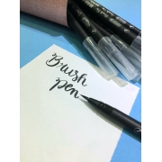 Brush Pen Aquarelável BRW - Preta