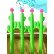 Caneta Cacto com Florzinha