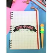 Planner Permanente - Girl Power Branco