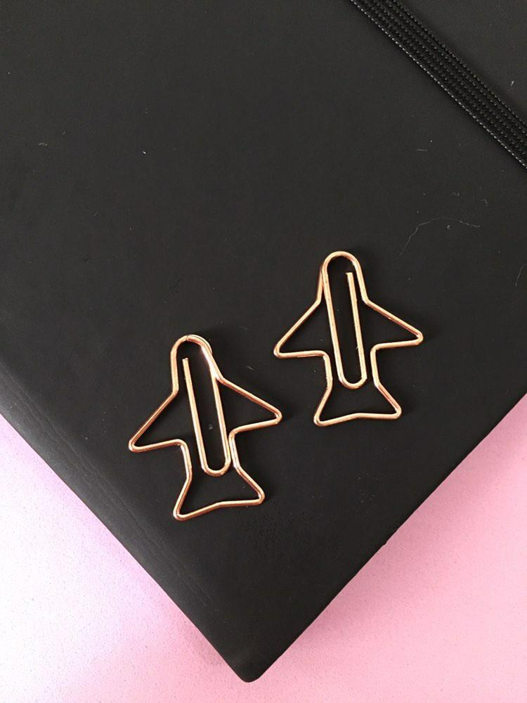 Clips Rose Gold - Sorvete/Avião