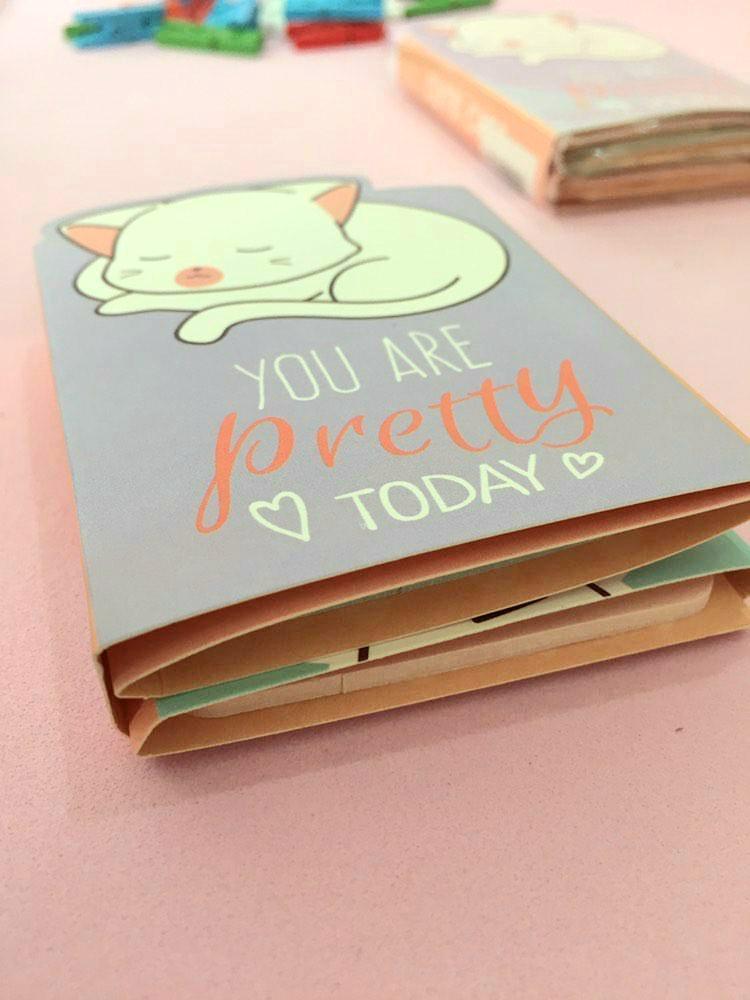 Sticky Note Livro - Cat
