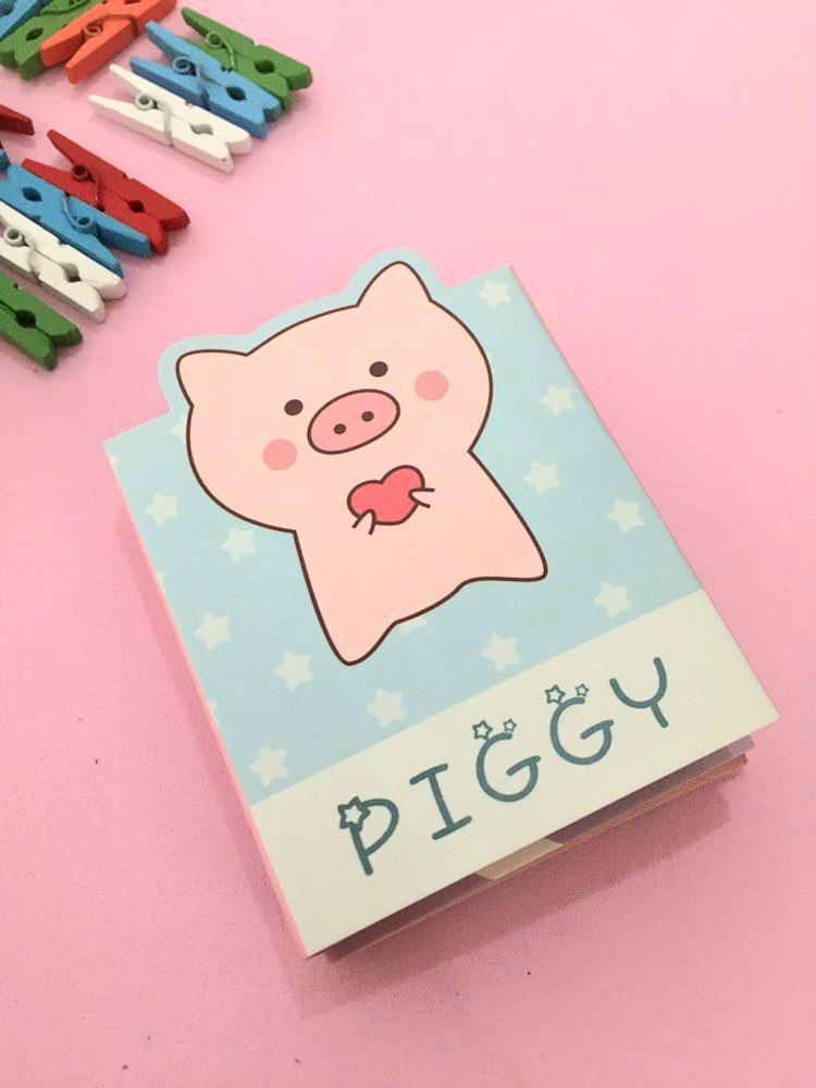 Sticky Note Livro - Piggy