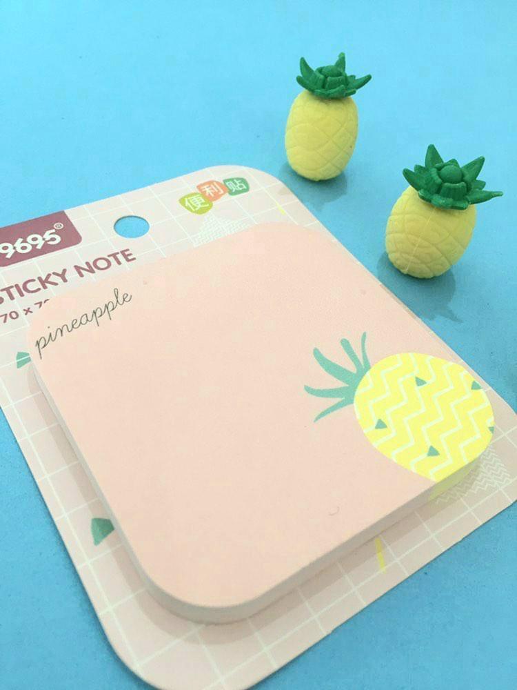 Sticky Note Pineapple