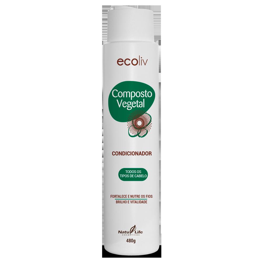 Composto Vegetal Condicionador Natu Life - 490g