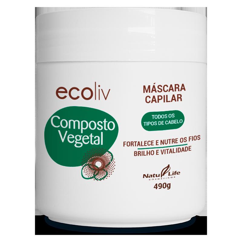 Composto Vegetal Máscara Capilar Natu Life - 490g