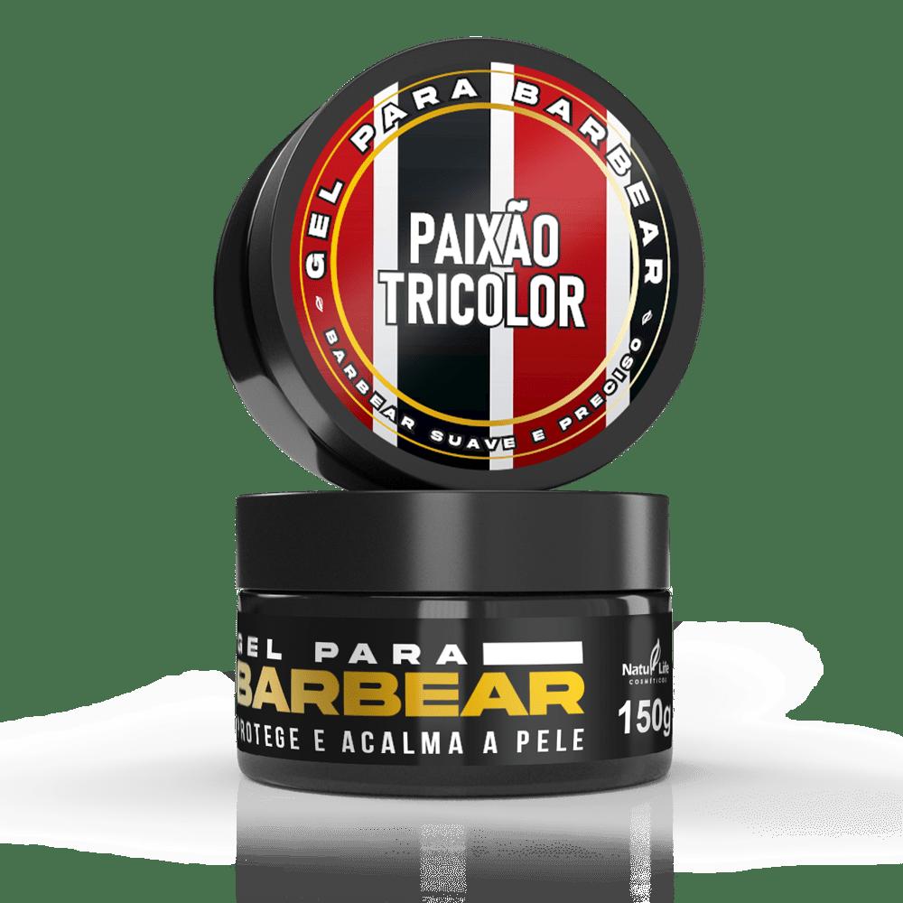 Gel para barbear - Paixão Tricolor 150g