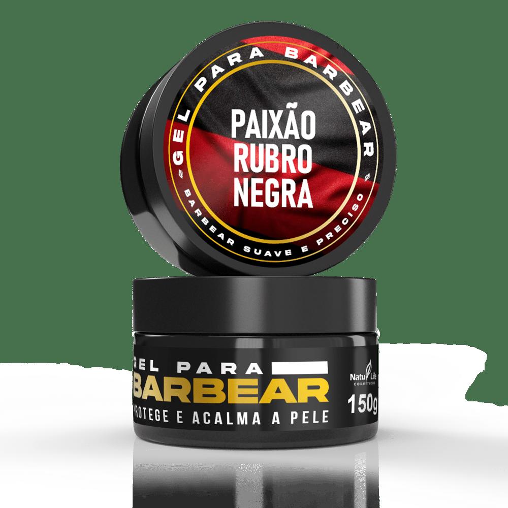 Gel para barbear -  Paixão Rubro Negra 150g