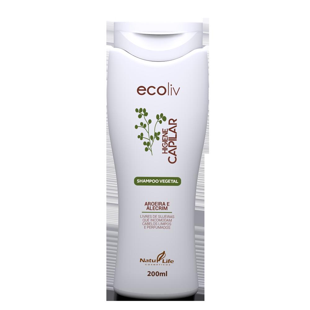 Higiene Capilar Shampoo Vegetal Natu Life - 200ml