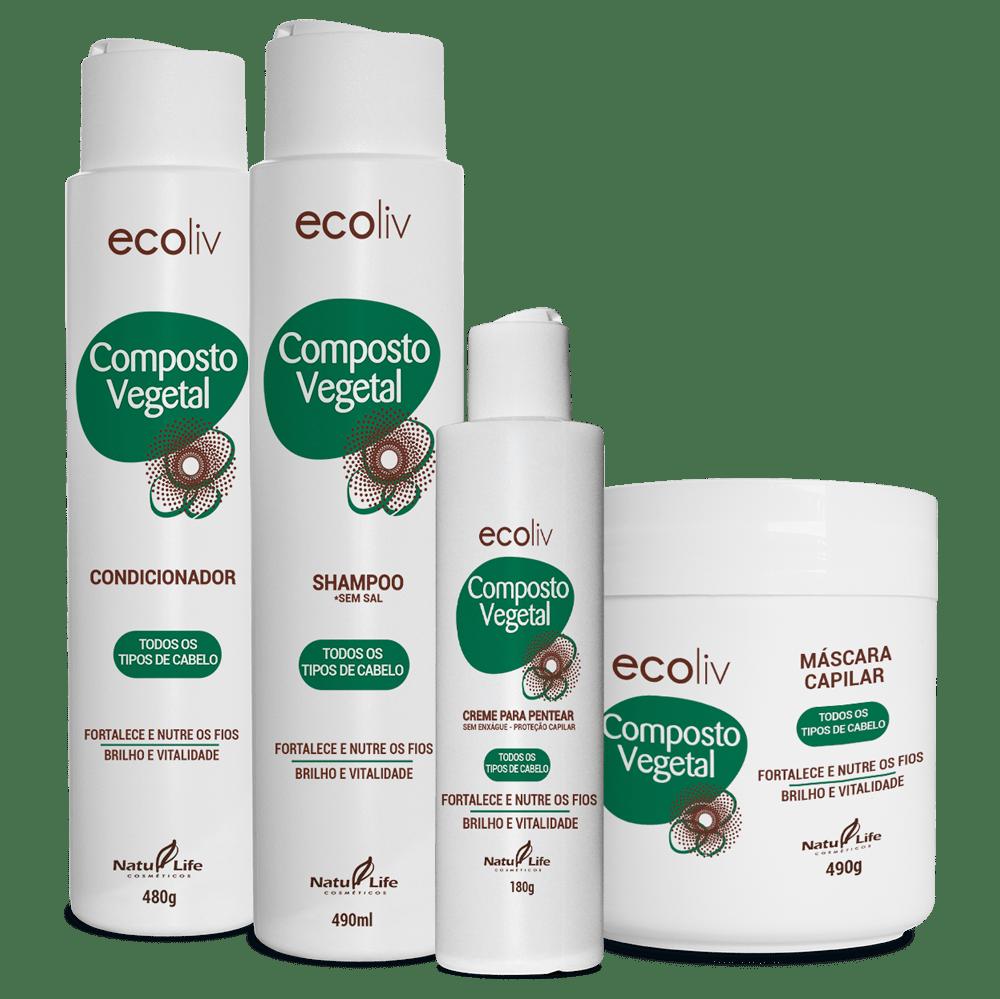 Kit Composto Vegetal