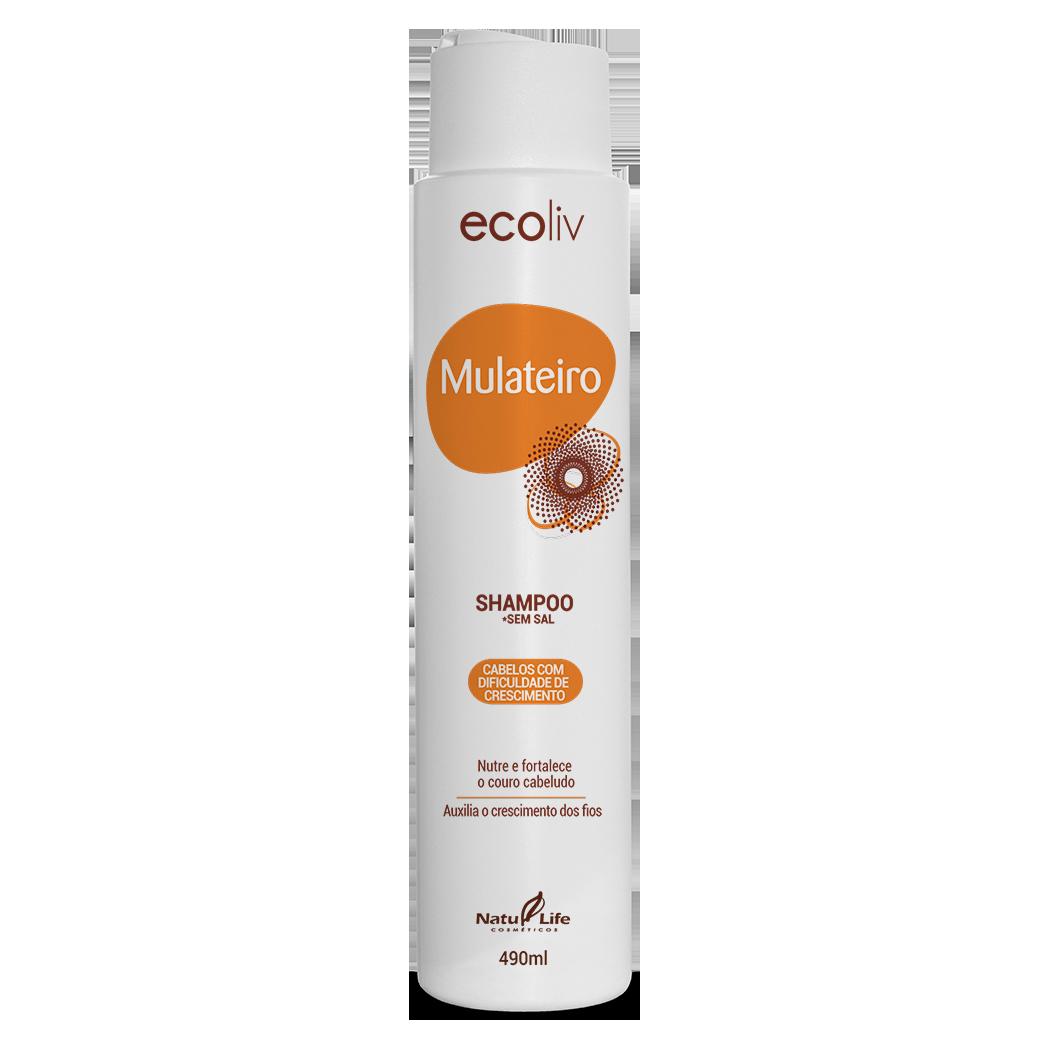 Mulateiro Shampoo Natu Life - 490ml