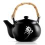 Chaleira c/ 6 Copos Chá Cerâmica - Oriental Japonês