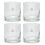 Copo Whisky 320ml Vidro - 4 peças