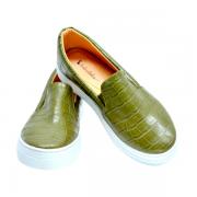 Slipper Croco Verde