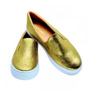 Slipper Sparkle Dourado