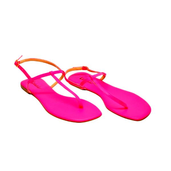 Rasteirinha Napa Pink