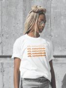 Alô, comunidade (t-shirt branca)