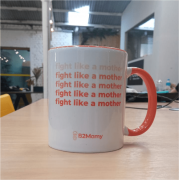 Caneca Fight Like a Mother