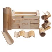 Kit Construção de Bambu (Pequeno) na sacola