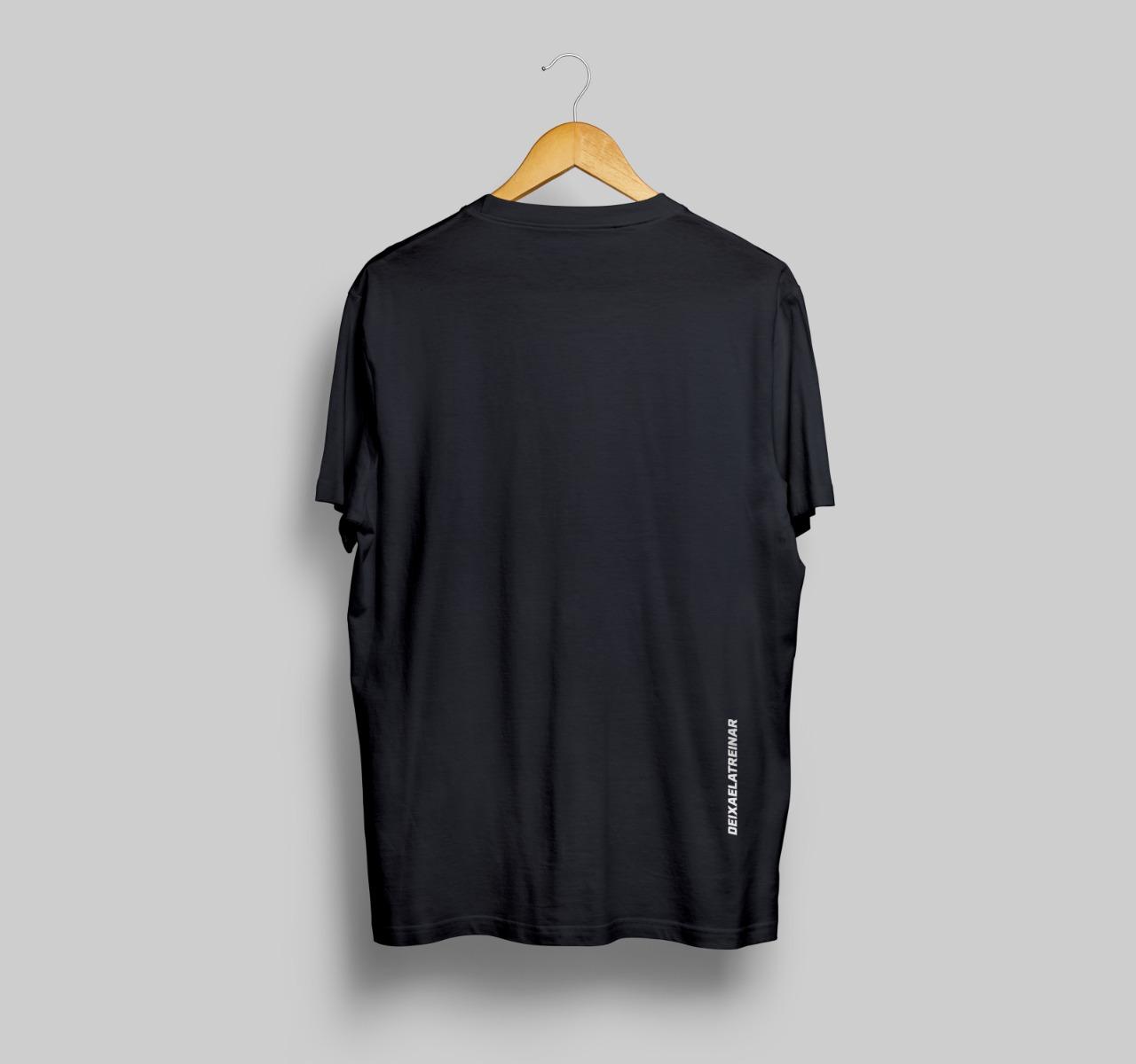 Camiseta desculpe o atraso