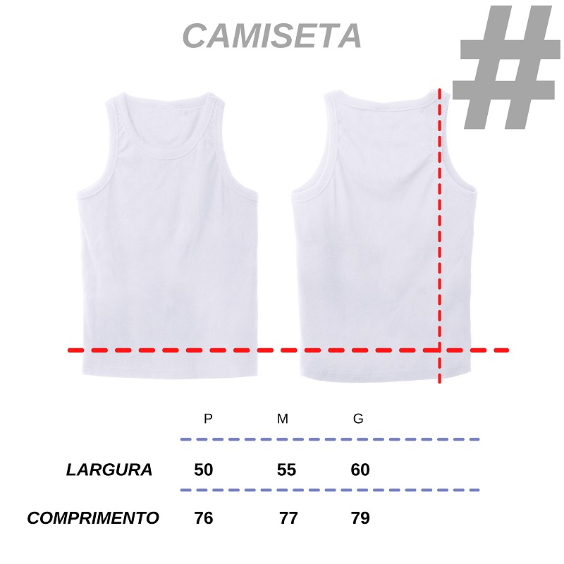 Camiseta Regata Rosa Degradê