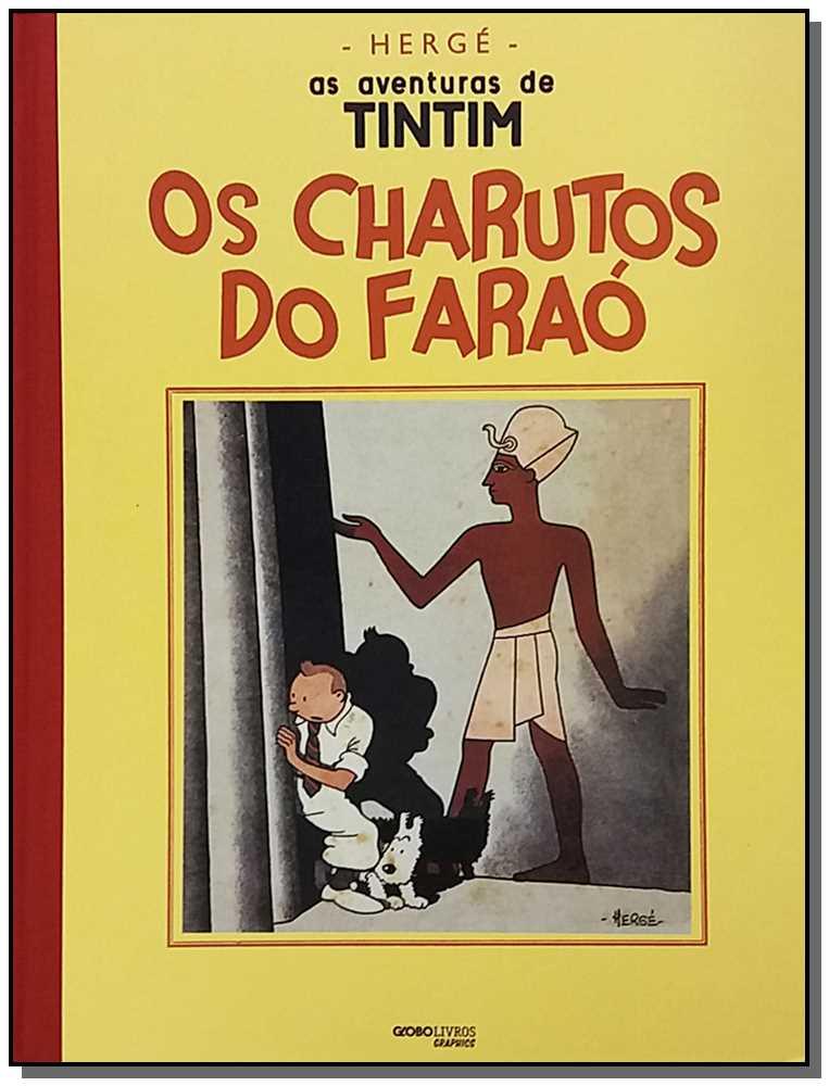 AVENTURAS DE TINTIM, AS - OS CHARUTOS DO FARAO