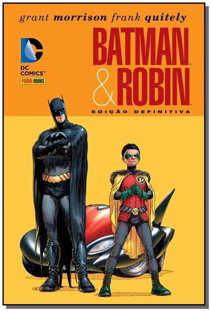 BATMAN & ROBIN ? EDIÇÃO DEFINITIVA