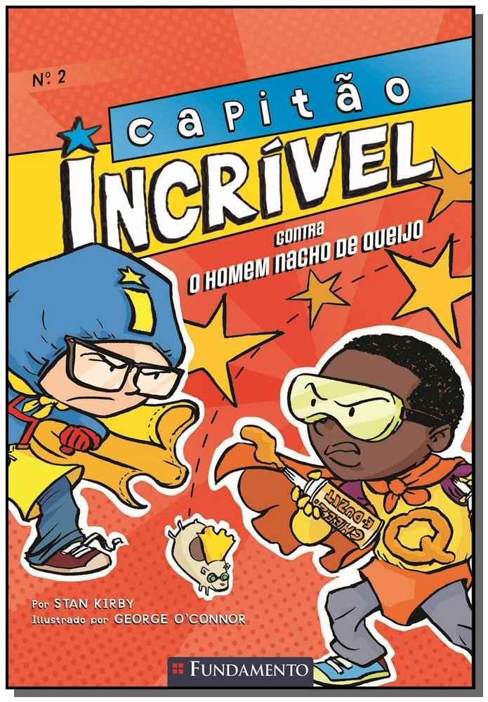 CAPITAO INCRIVEL 02 - CONTRA O HOMEM NACHO DE Q.