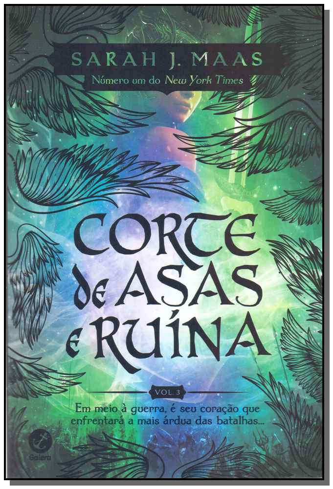 CORTE DE ASAS E RUÍNA (VOL. 3 CORTE DE ESPINHOS E ROSAS)