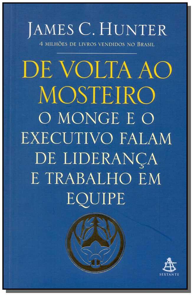 DE VOLTA AO MOSTEIRO