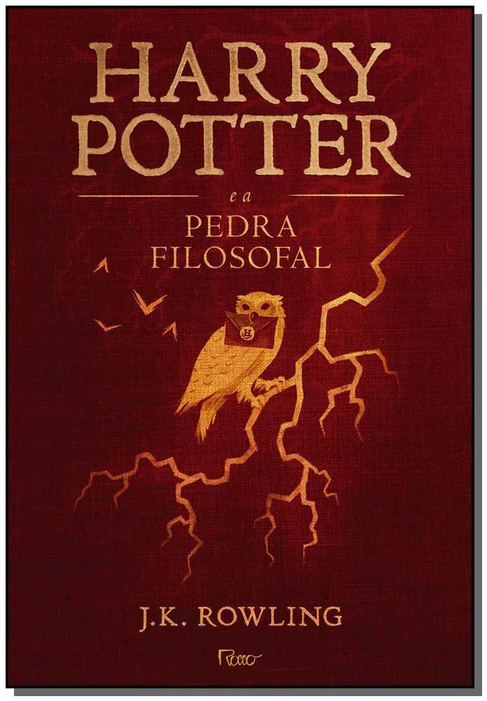 HARRY POTTER - V.01 - PEDRA FILOSOFAL - CAPA DURA