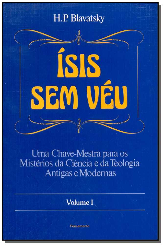 ISIS SEM VEU - VOL.01