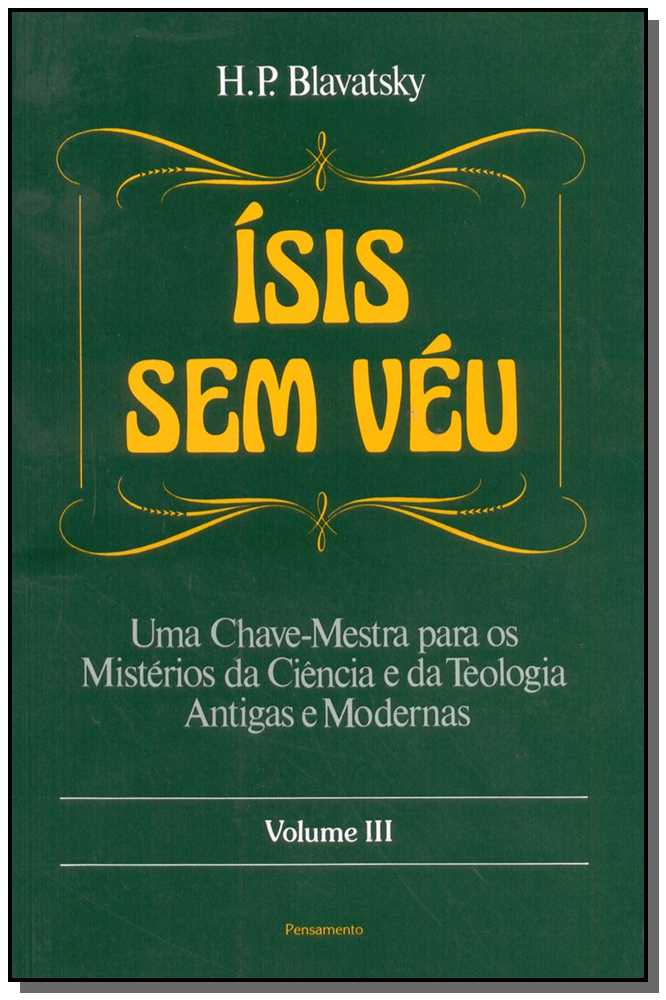 ISIS SEM VEU - VOL.03