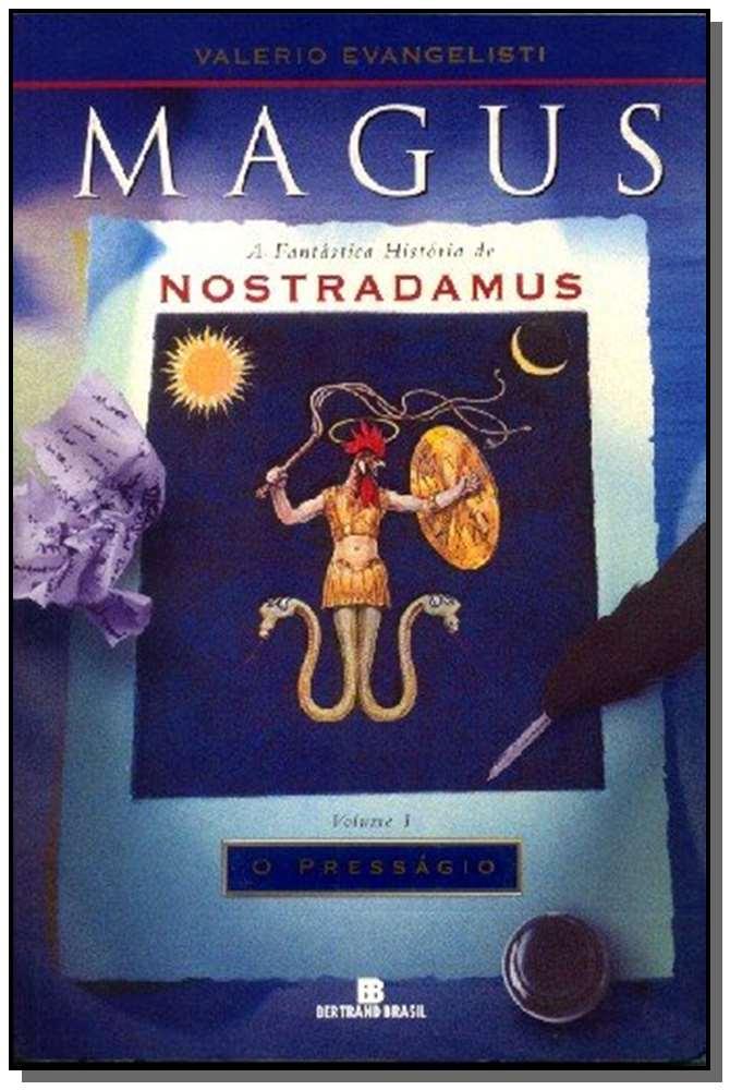 MAGUS - VOL.01 - O PRESSAGIO - HIST. NOSTRADAMUS