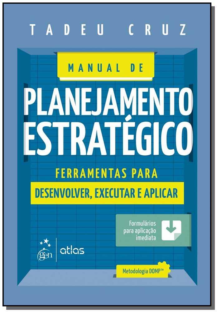 MANUAL DE PLANEJAMENTO ESTRATÉGICO