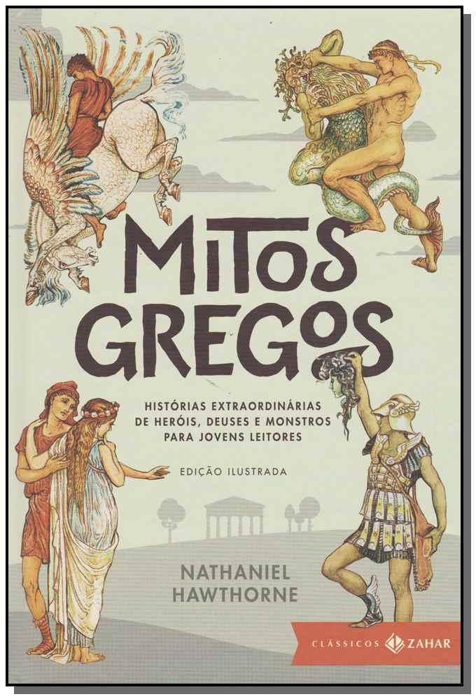 MITOS GREGOS: EDICAO ILUSTRADA