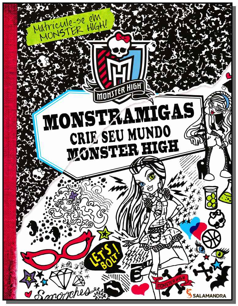 MONSTRAMIGAS - CRIE SEU MUNDO MONSTER HIGH