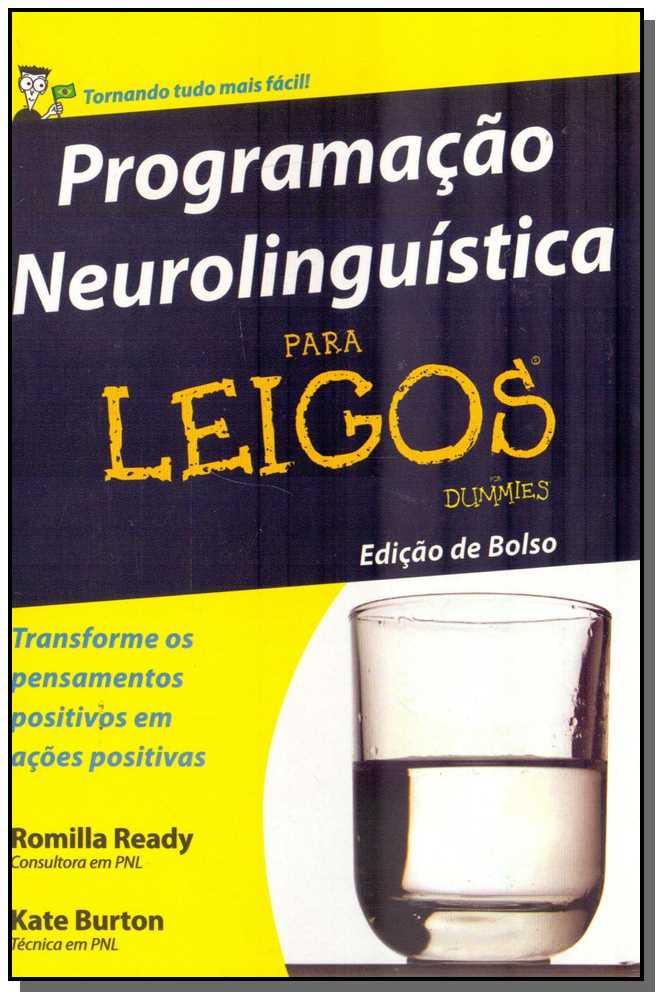 PROGRAMACAO NEUROLINGUISTICA PARA LEIGOS - BOLSO