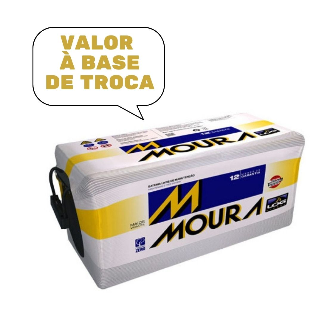 BATERIA MOURA 80Ah M80RE MFA