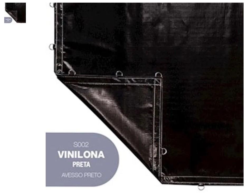 VINILONA SANSUY 6 X 4 PRETA